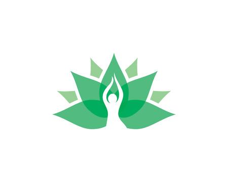 Beauty Vector flowers design logo Template icon Illustration