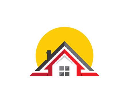 Property Logo Template Illustration