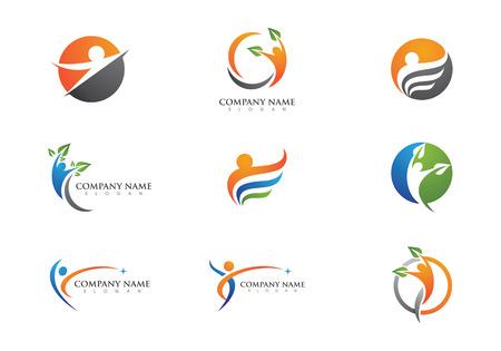 Plantilla Logo Salud Logos