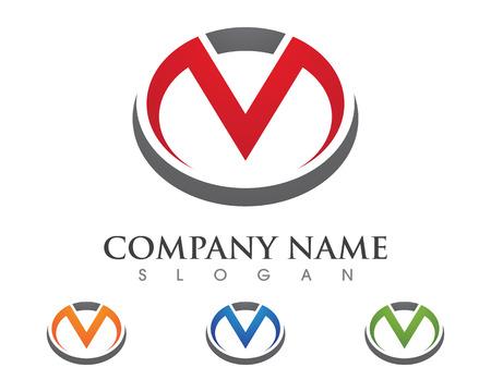 M Letter Logo Business professional logo template Logó