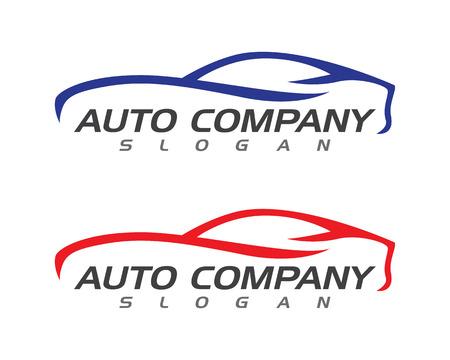自動車のロゴのテンプレート