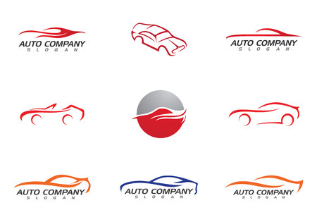 Auto car Logo Template Stok Fotoğraf - 67378532