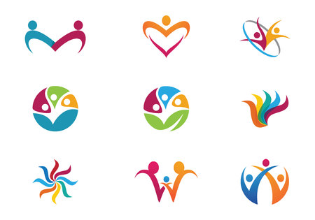 heart puzzle: community care Logo