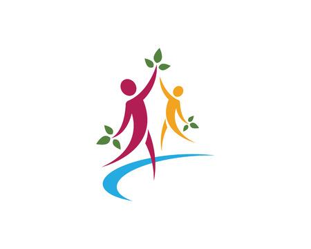 Healthy Life Logo Logo