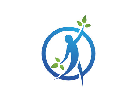 nature woman: Healthy Life Logo