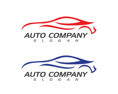 Auto car Logo Template