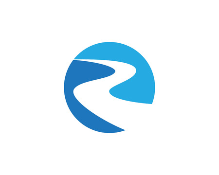 R River Logo