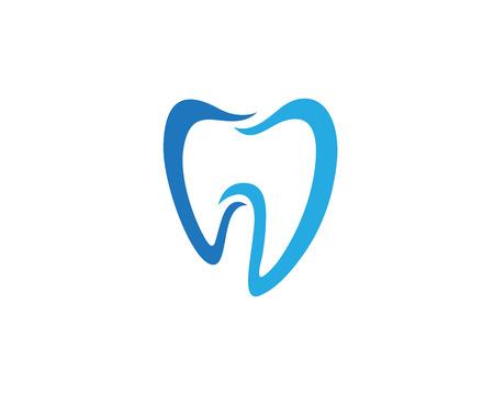 歯科のロゴのテンプレート ベクトル