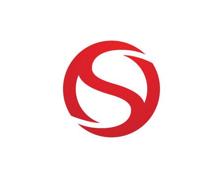 logo element: S letter logo Template Illustration