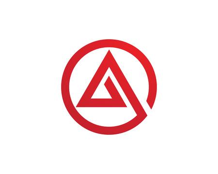 competitividad: Una plantilla de carta Logo Vectores