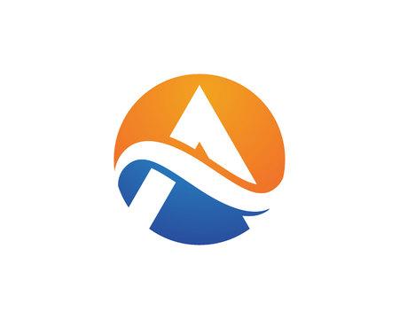 A Letter Logo Template Logo