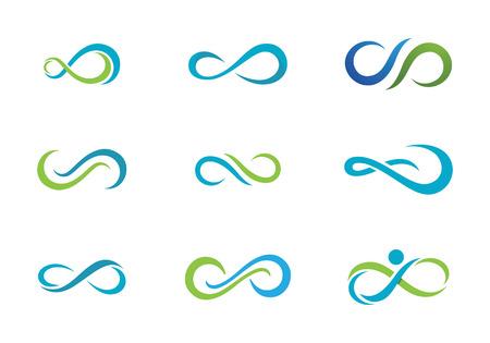 無限のロゴのテンプレート