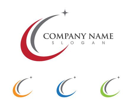 Star Logo Template  イラスト・ベクター素材