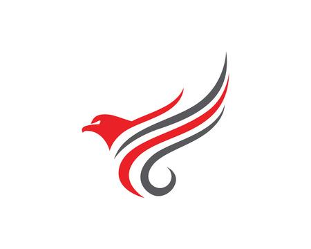 ファルコンのロゴのテンプレート
