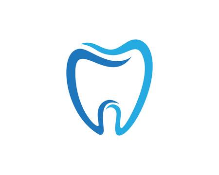 Ikona szablonu stomatologicznego Ilustracje wektorowe