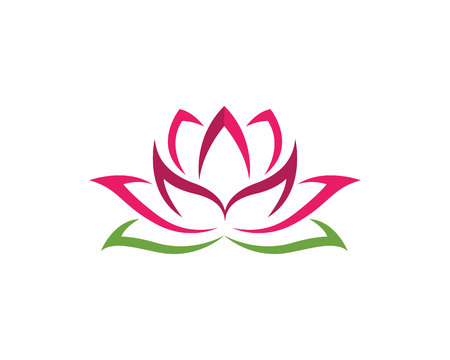 Beauty Lotus Logo Template