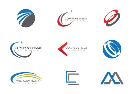 Arow  Logo template Stock Illustratie