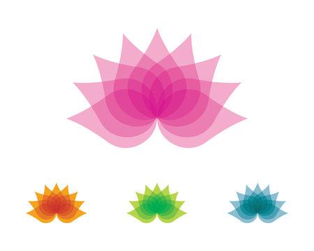 leaf logo: Beauty Vector flowers design logo Template icon Illustration