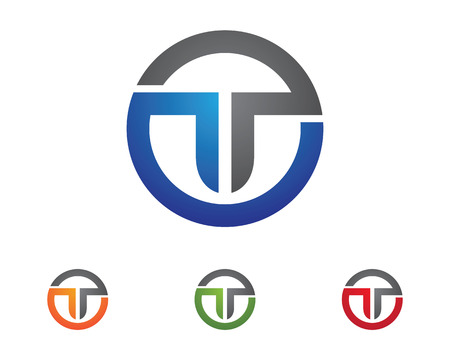 T Letter Logo Business professional logo template
