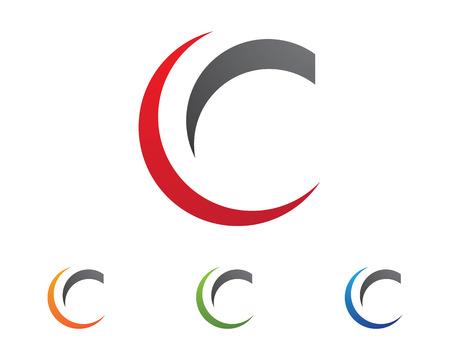 C Letter Logo Template vector icon desig