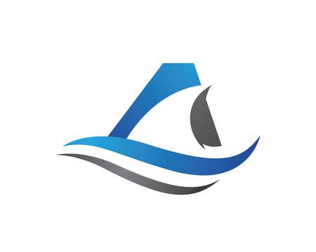 Shark Logo Template Illustration