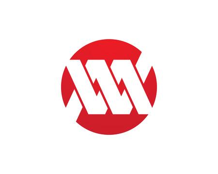 M Letter Logo Business professional logo template