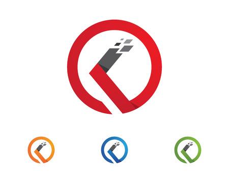 Arrows vector illustration icon Logo Template design