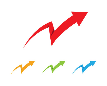 Arrows vector illustration icon  Template design