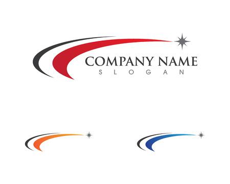 Logo template vector icon illustration design Çizim