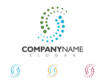 Spine diagnóstico símbolo logotipo plantilla ilustración vectorial diseño