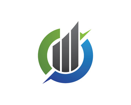 Business Finance professional logo template vector icon 向量圖像
