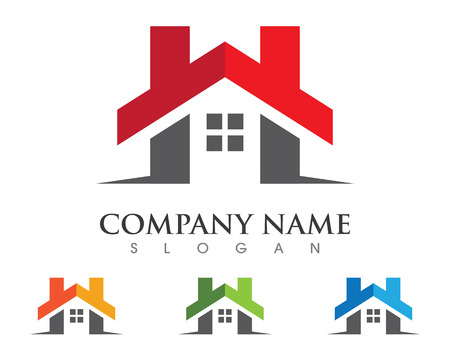 H Letter Property Logo Template