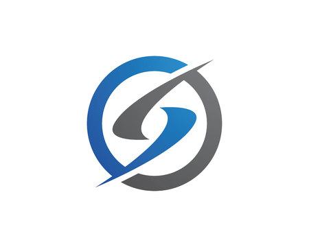 Business corporate letter S logo design vector Illustration