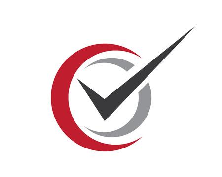 V Letter Logo Template illustrazione vettoriale icona