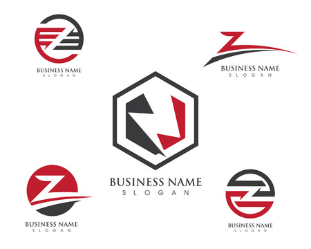 Z Letter Logo Business professional logo template