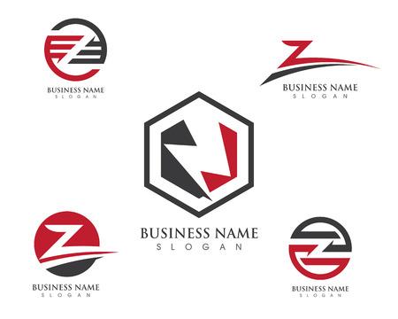 Z Letter Logo Business professional logo template 免版税图像 - 73165955