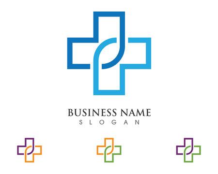 medics: Health Medical Logo template vector illustration design Illustration