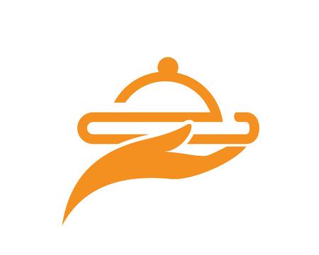 Chef logo template vector icon Illustration