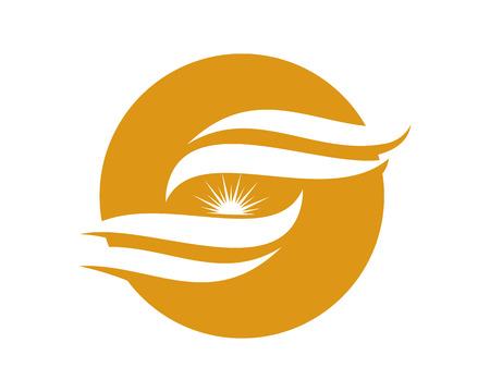 design: S letter logo, volume icon design template element