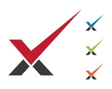X 편지 로고 템플릿 벡터 아이콘 디자인