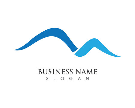 High Mountain icon  Logo Business Template Vector 向量圖像
