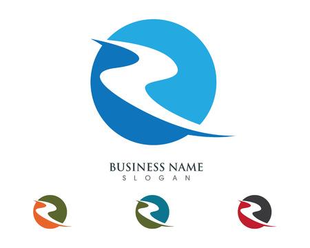 R Letter Logo Business professional logo template Stock fotó - 72755024