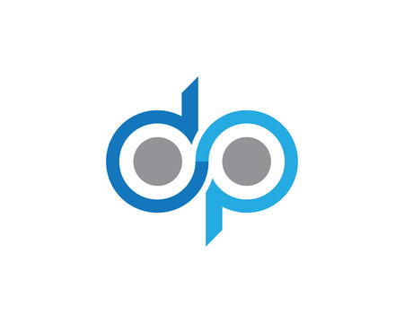 d mark: Infinity logo template