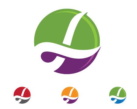 L logo template