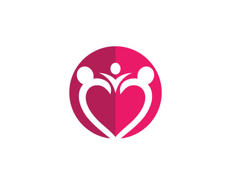 heart puzzle: Nice community care Logo