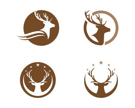 Deer Logo Template Illustration