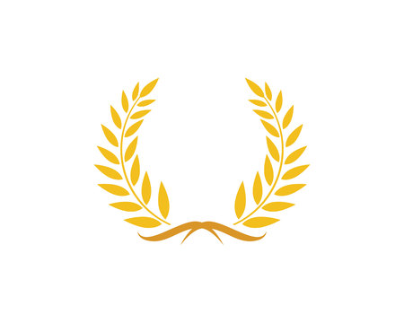 Agriculture wheat Logo Template vector icon design Stock Vector - 77895888