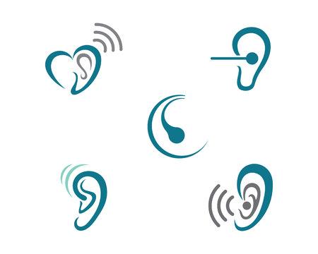 Audiencia Logotipo plantilla icono de diseño vectorial