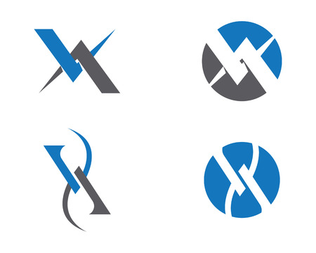 v cycle: Business corporate Logo Template