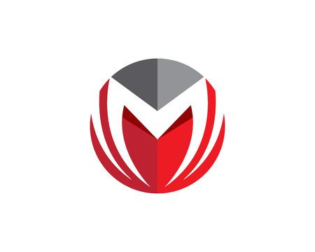 M Letter Logo Banco de Imagens - 75724693